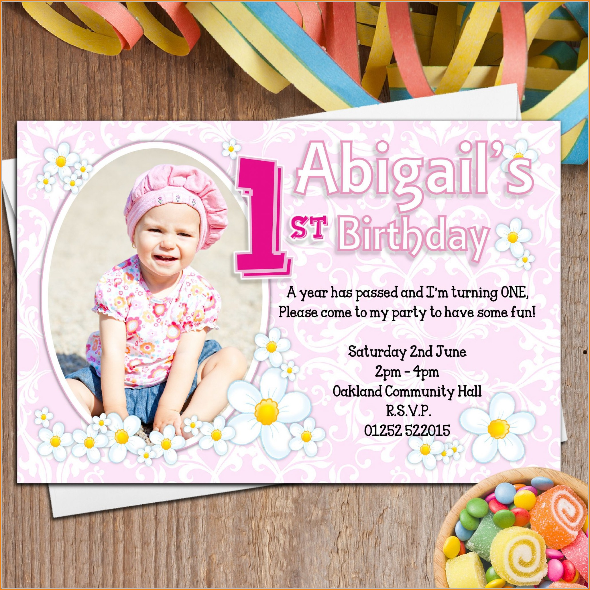 1st Birthday Invitation Template In Tamil