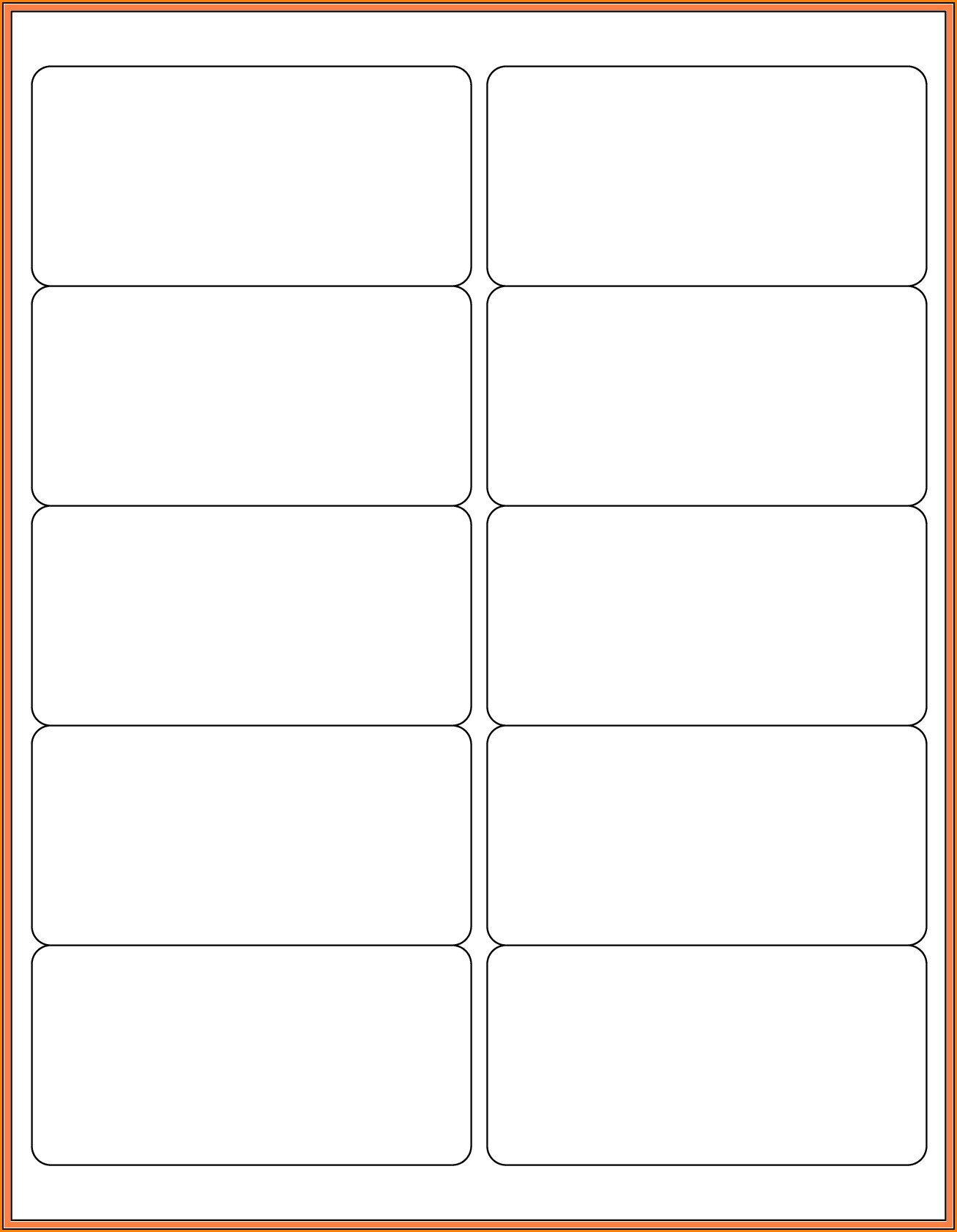 2x4 Label Template Pdf