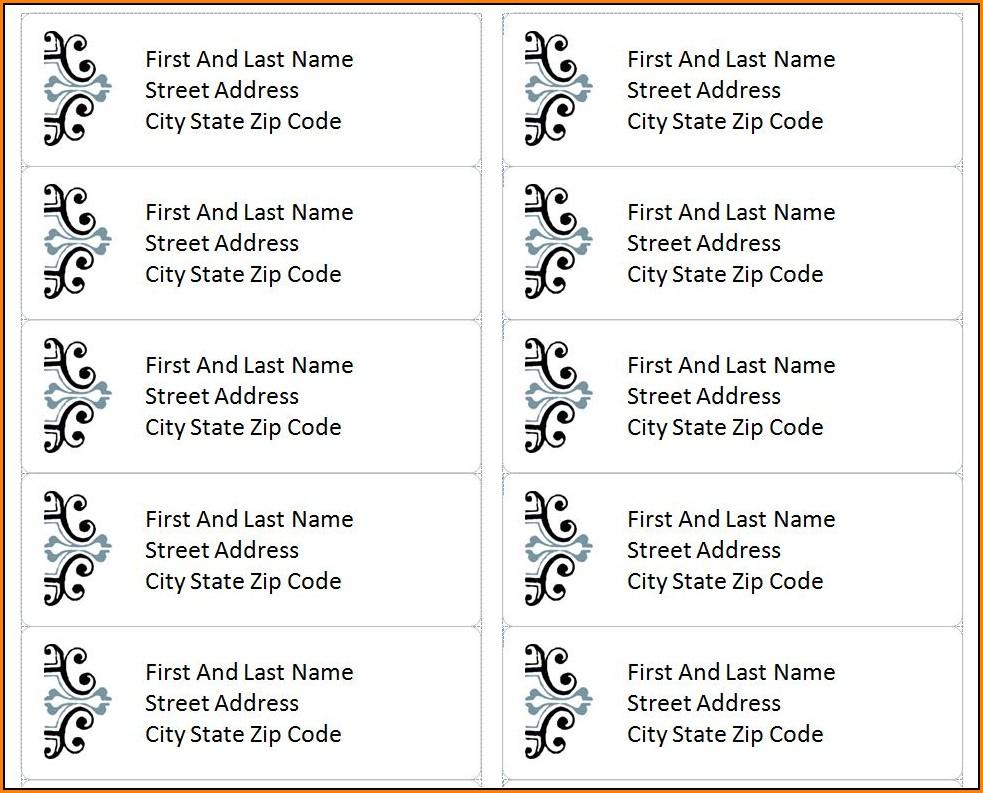 Address Label Templates