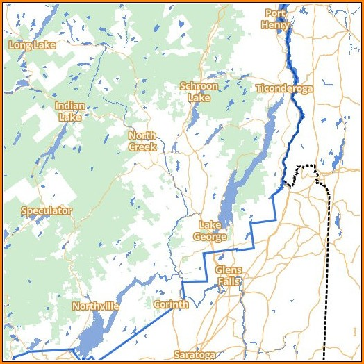 Adirondack Trail Map Interactive