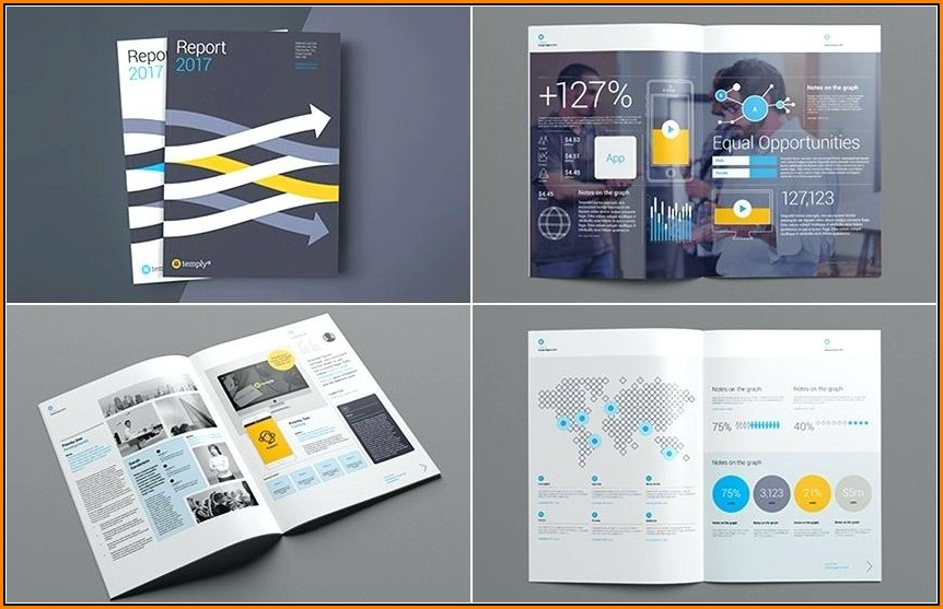 Annual Report Design Templates Free Download