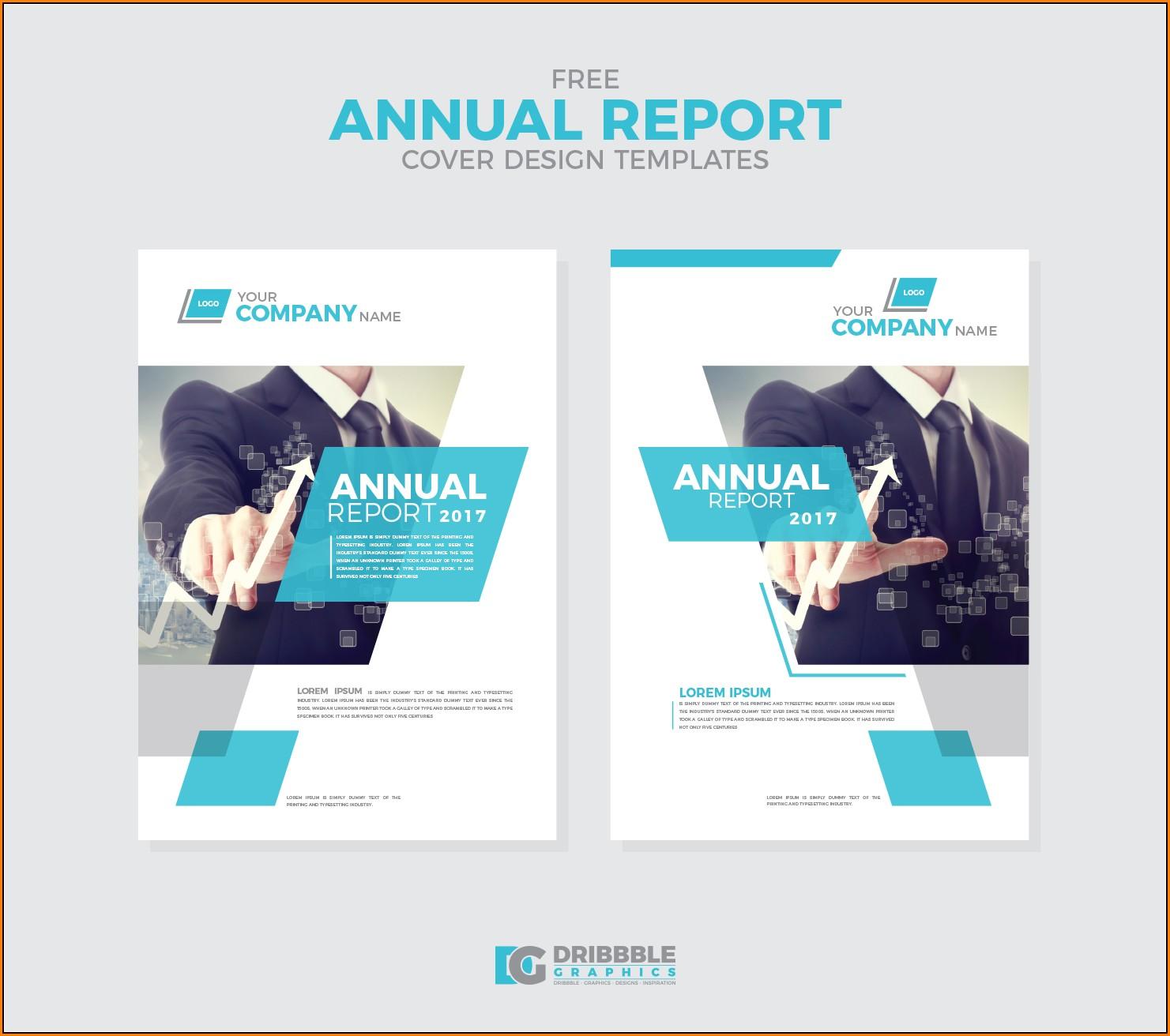 Annual Report Design Templates Free