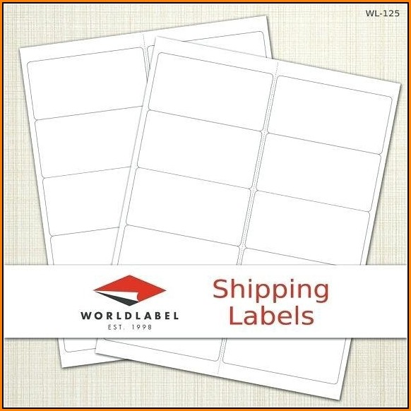 Avery Shipping Label Template 18163
