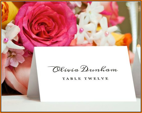 Avery Place Card Template 5302