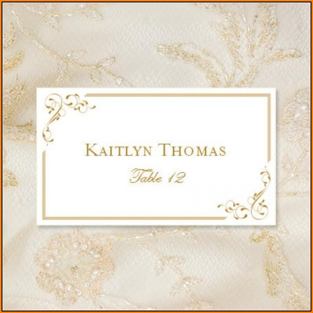 Avery Place Card Template Free Download
