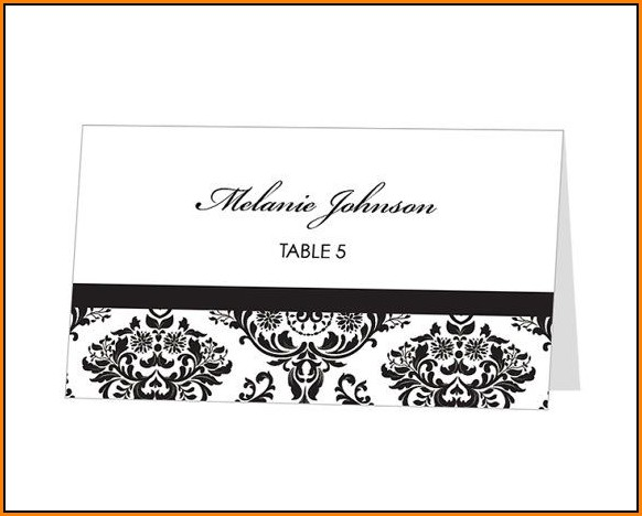 avery place card template wedding