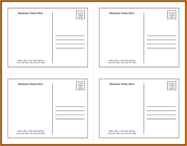 Avery Postcard Templates