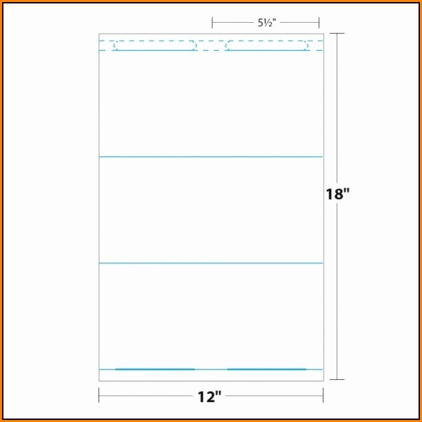 Avery Tent Card Template 5309