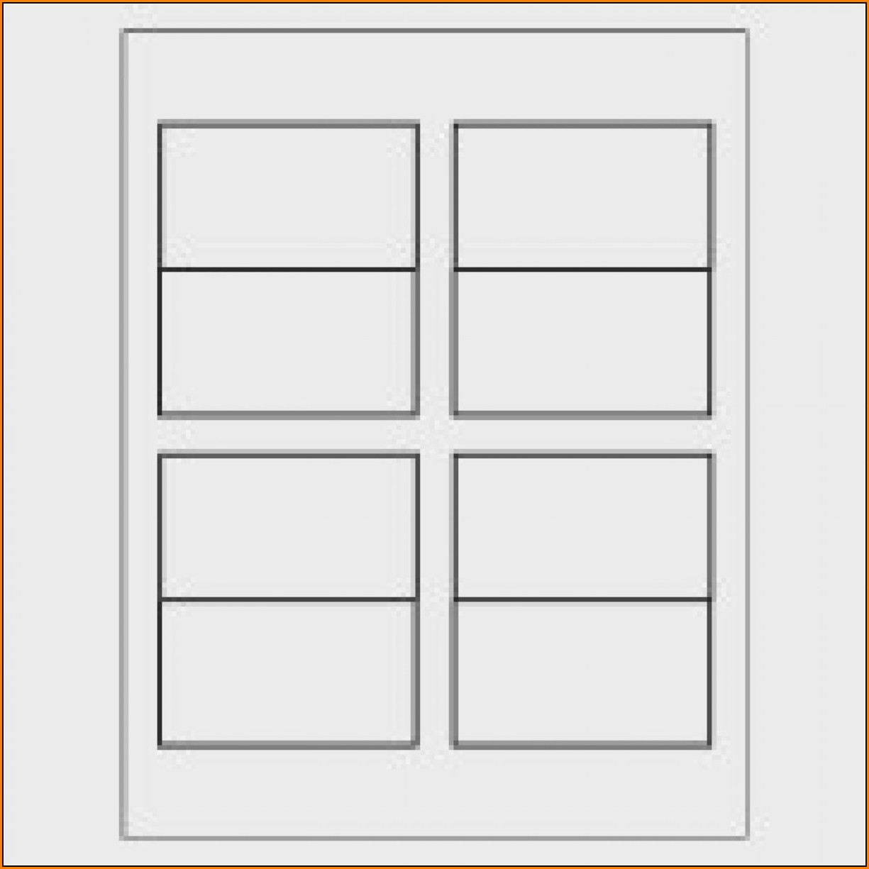 Avery Tent Card Template Word