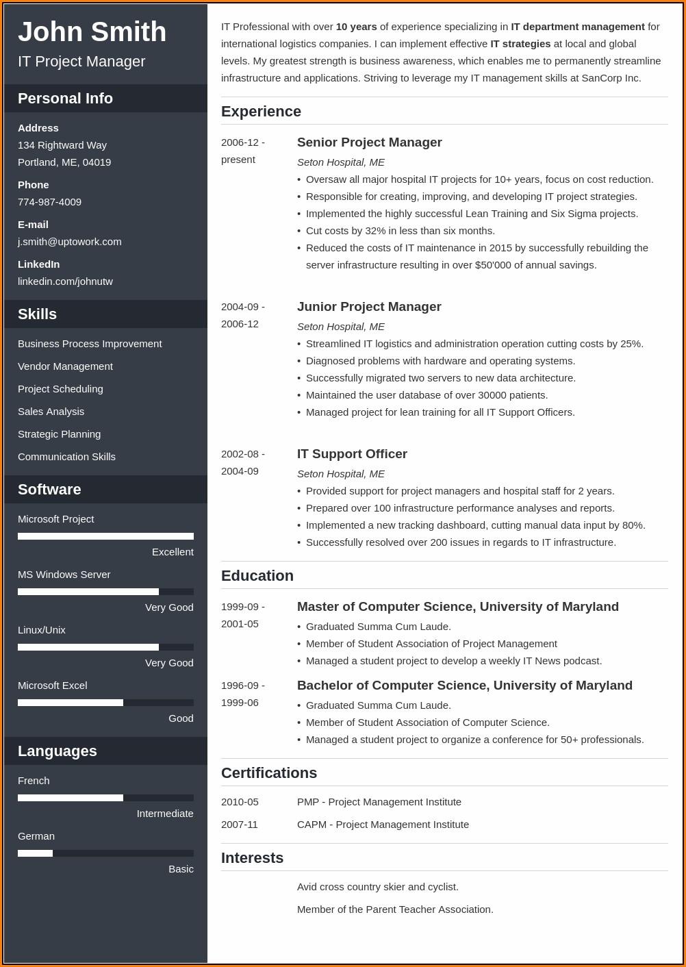 Best Resume Builder Online
