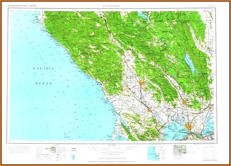 California Topo Maps Download