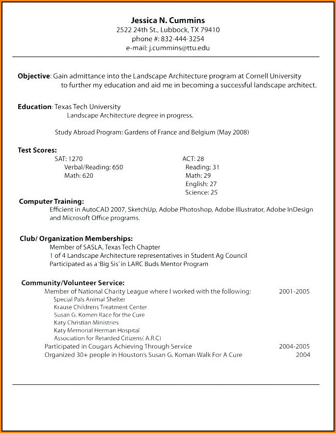 Career Builders Resume Templates