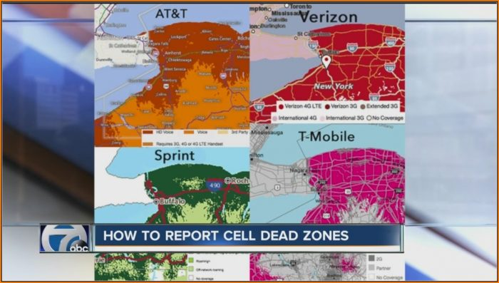 Cell Phone Companies Coverage Maps