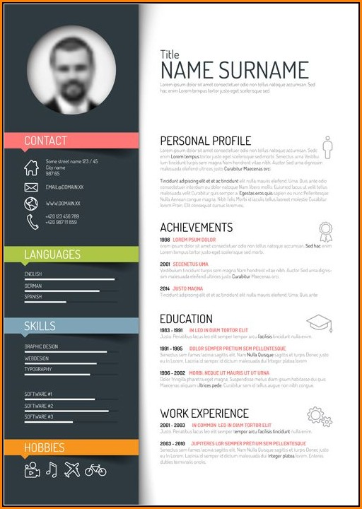 Cool Resume Templates Free