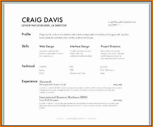 Creative Resume Builder Online Free