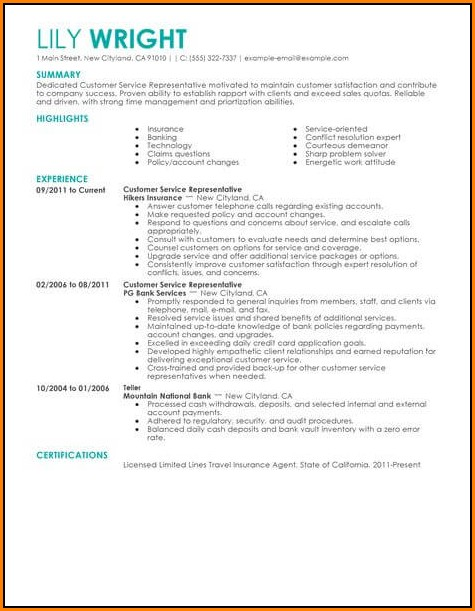 Editable Resume Templates Word