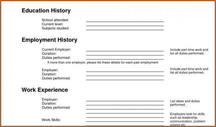 Free Printable Cover Letters For Employment
