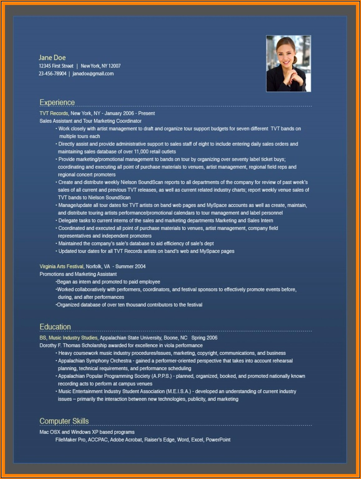 Free Resume Builder Online And Download