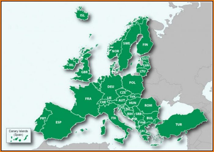 Garmin Europe Maps Coverage