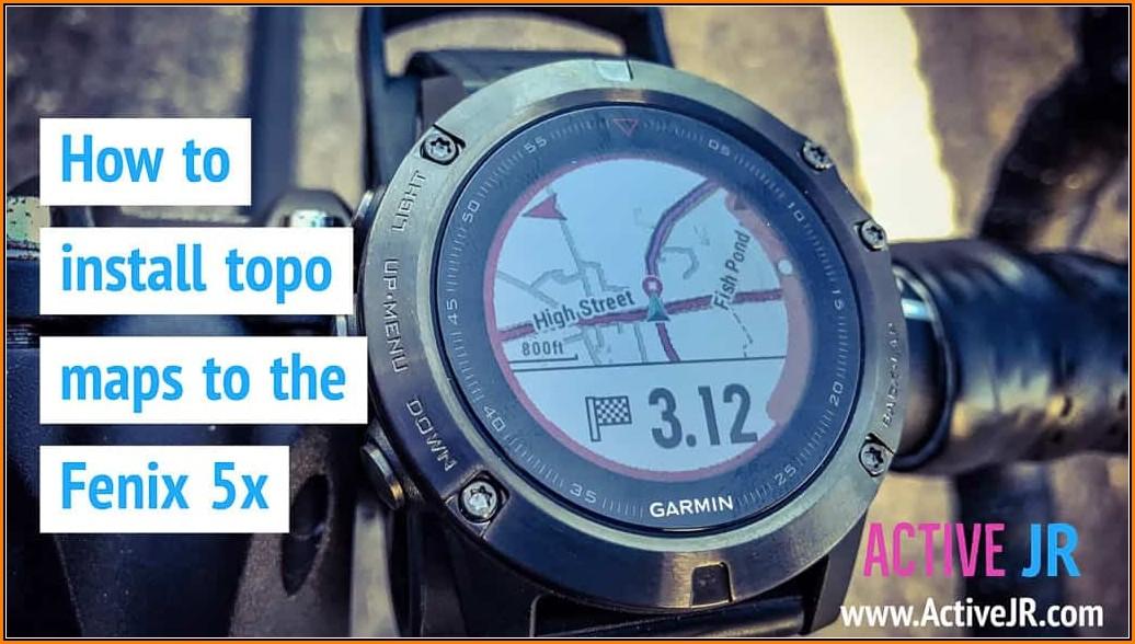 Garmin Fenix 5 Topo Maps