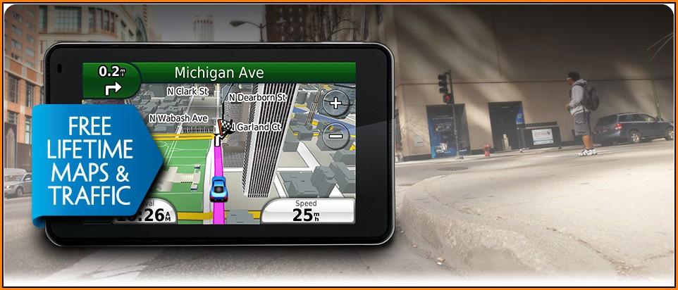 Garmin Lifetime Maps