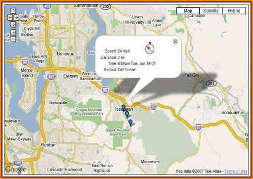 Google Map Gps Cell Phone Tracker Free