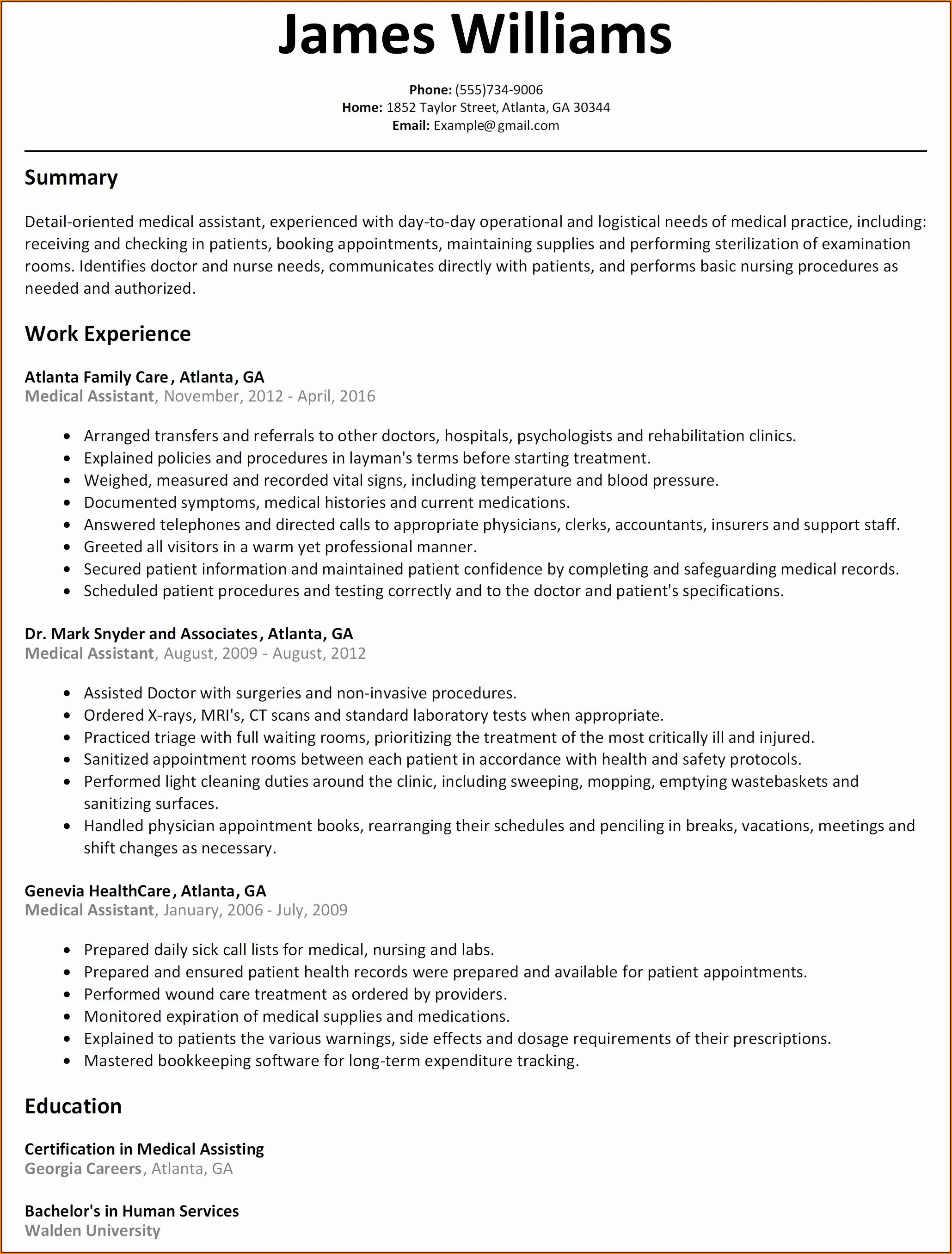 Google Resume Maker