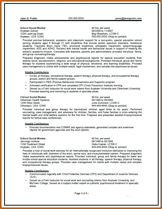 Government Resume Writers Perth
