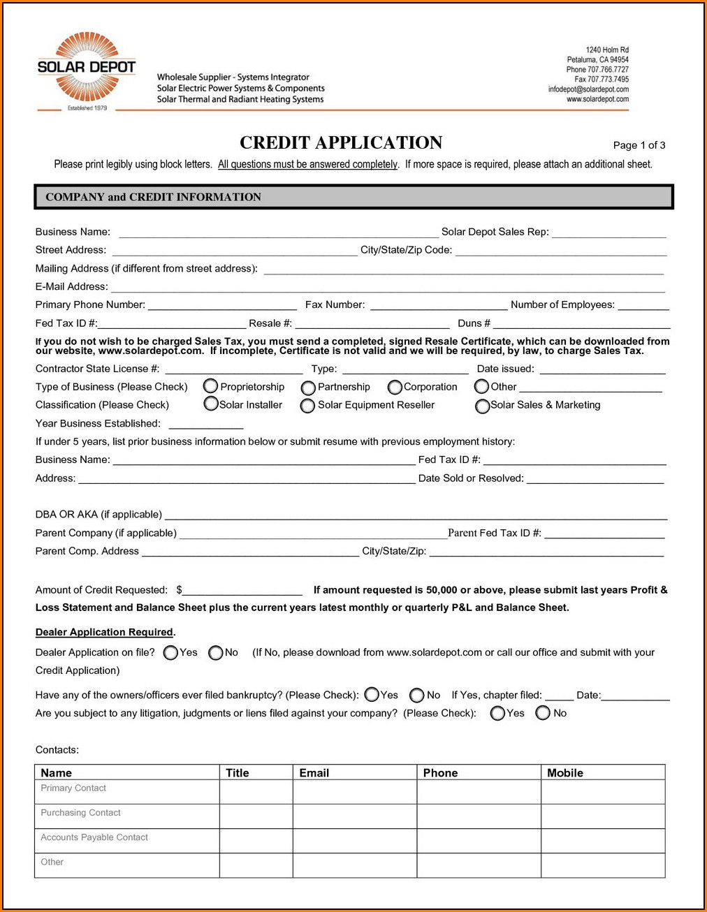 Home Depot Application For Job