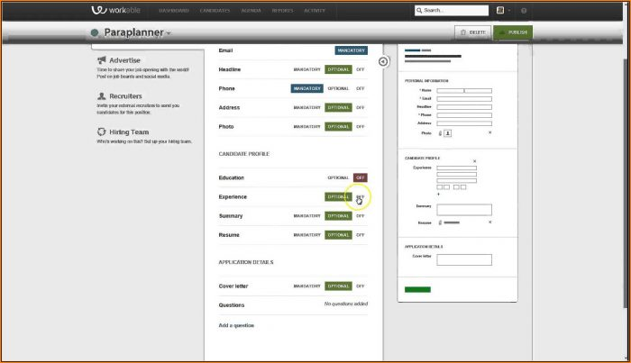 Job Applicant Tracking Software