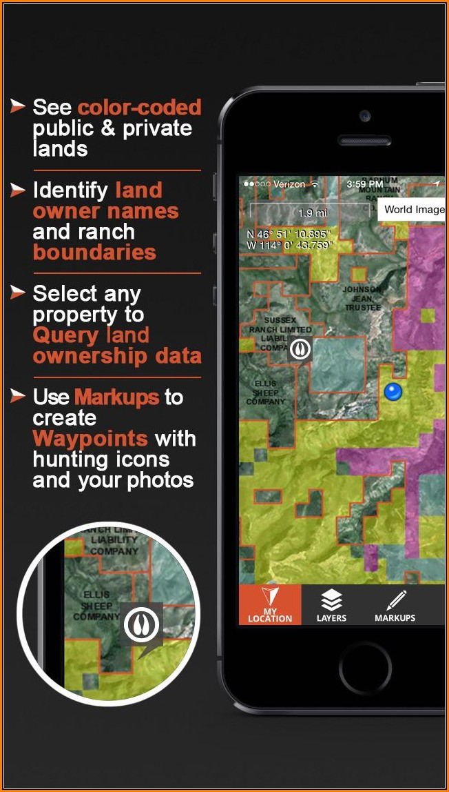 Land Ownership Map App