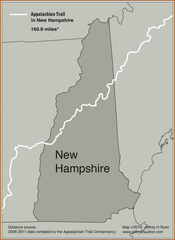 Map Of Appalachian Trail In New Hampshire