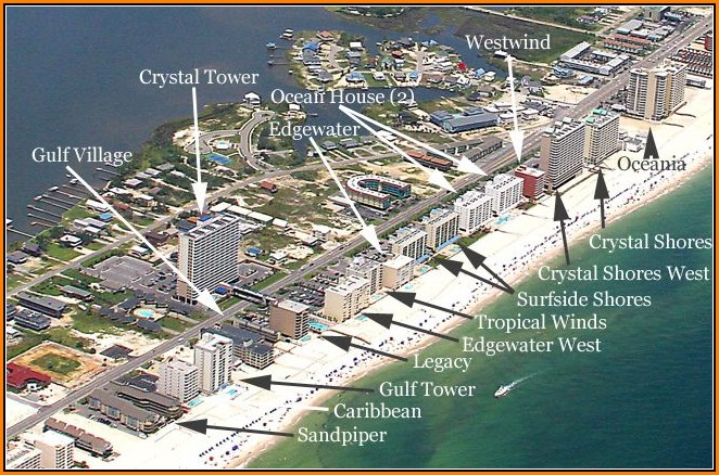 Map Of Gulf Shores Al