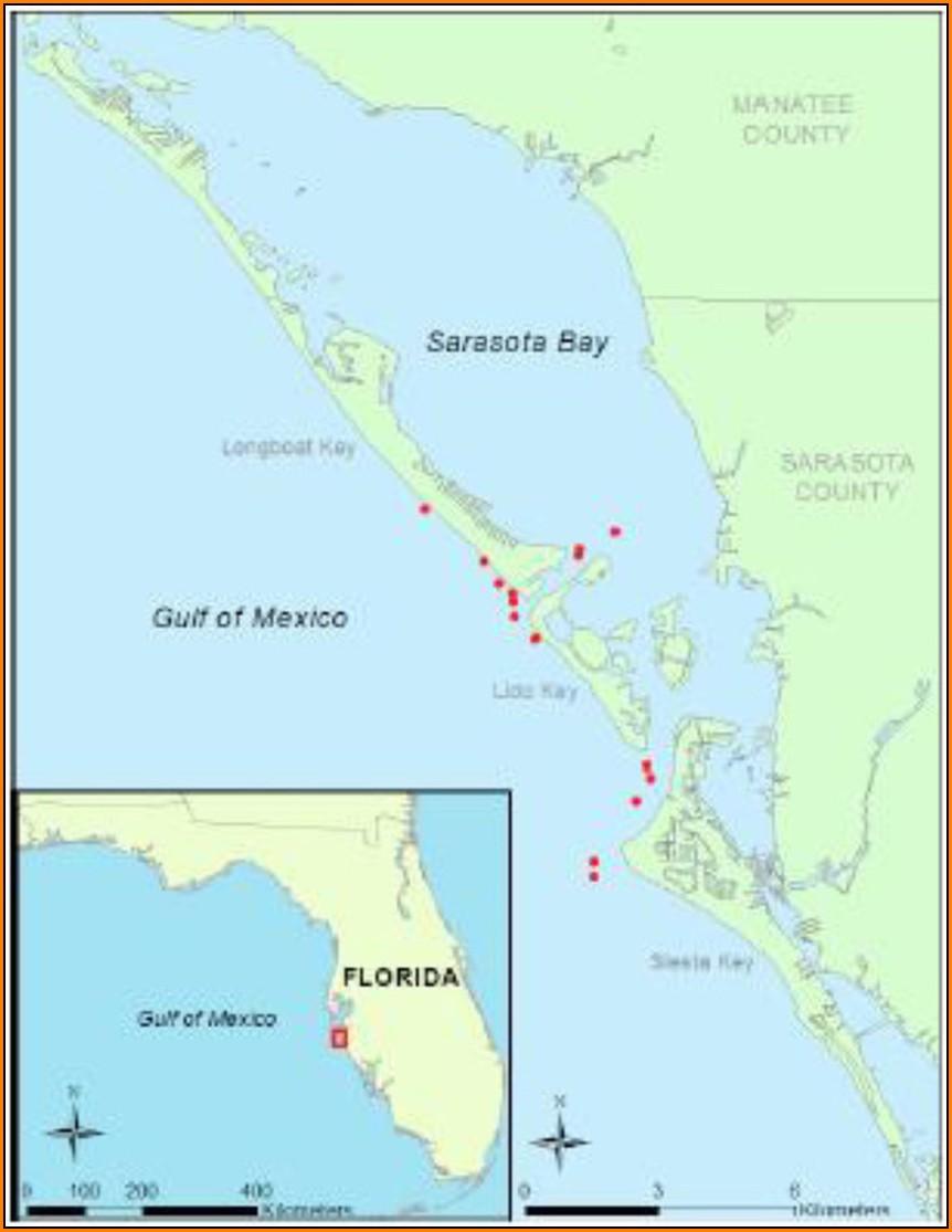 Map Of Sarasota Fl Area