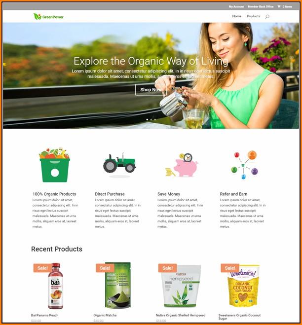 Mlm Website Templates