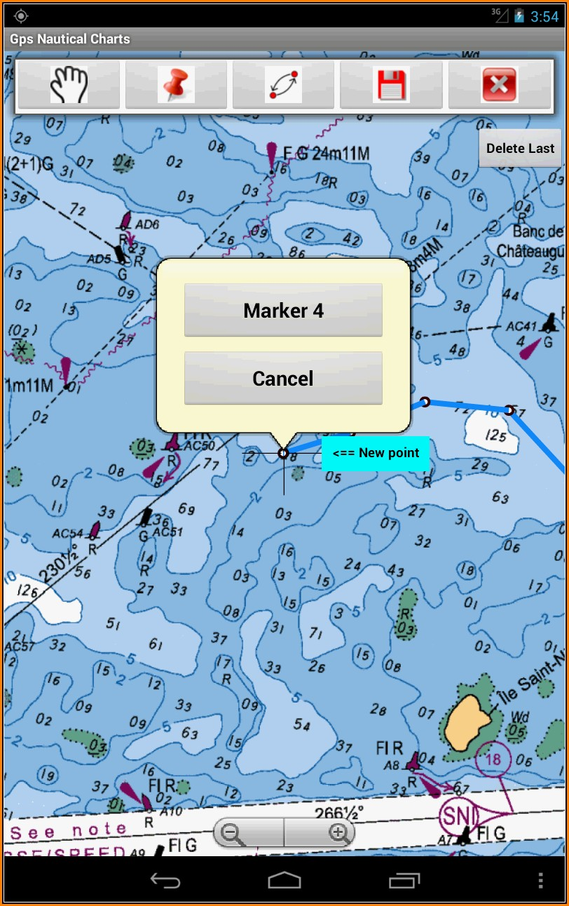 Navionics Lake Maps App