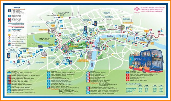 Nyc Hop On Hop Off Bus Route Map