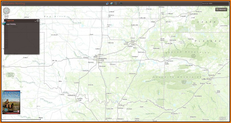 Oklahoma Public Hunting Land Maps