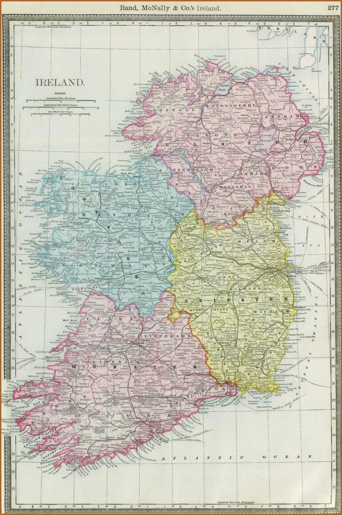 Old Rand Mcnally Maps