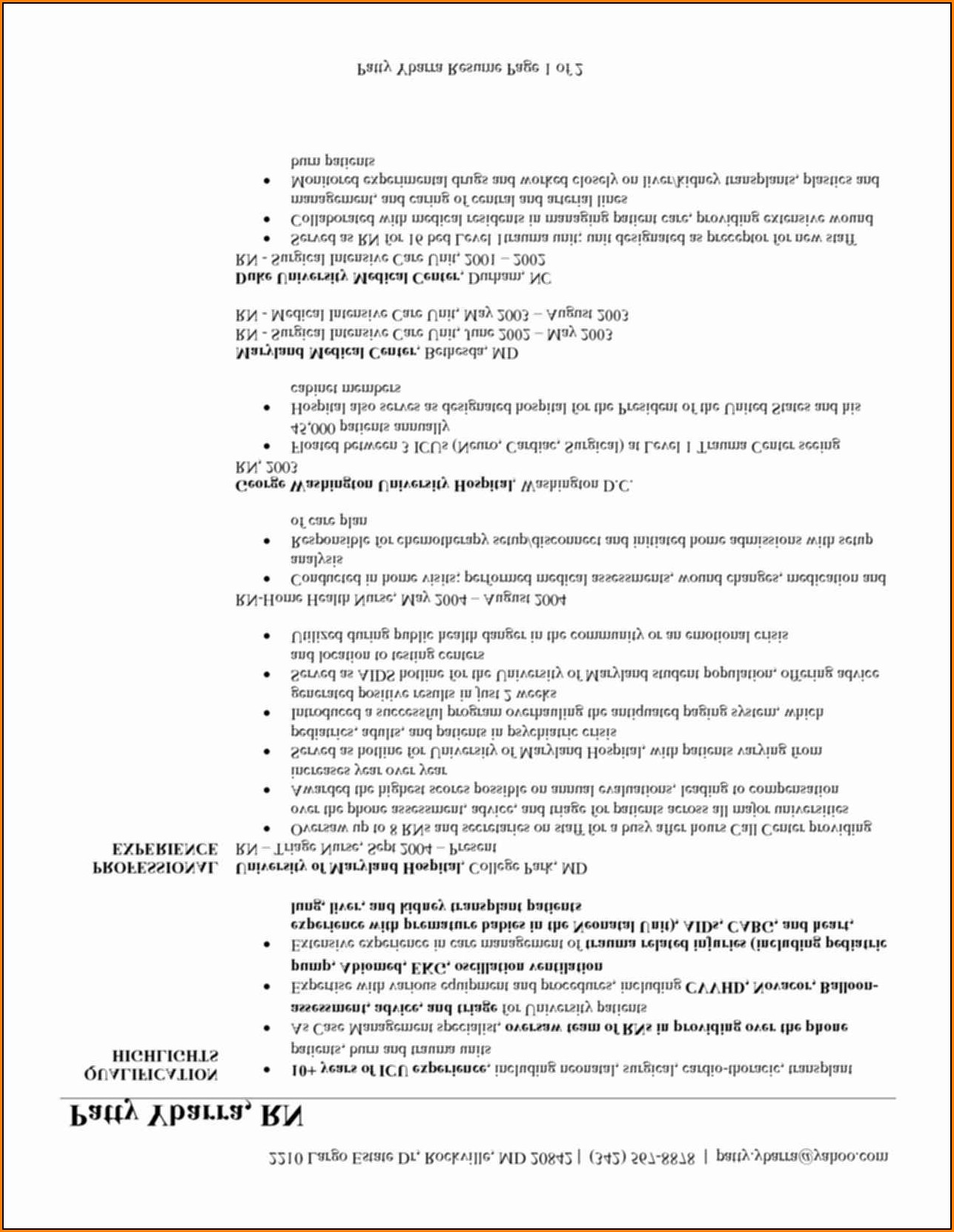 Printable Beginner Resume Templates