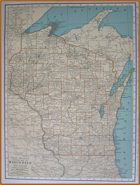 Rand Mcnally Maps For Sale