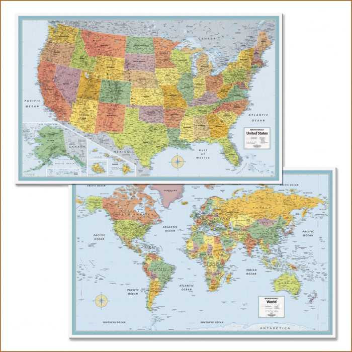 Rand Mcnally Paper Maps