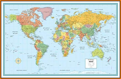 Rand Mcnally World Map
