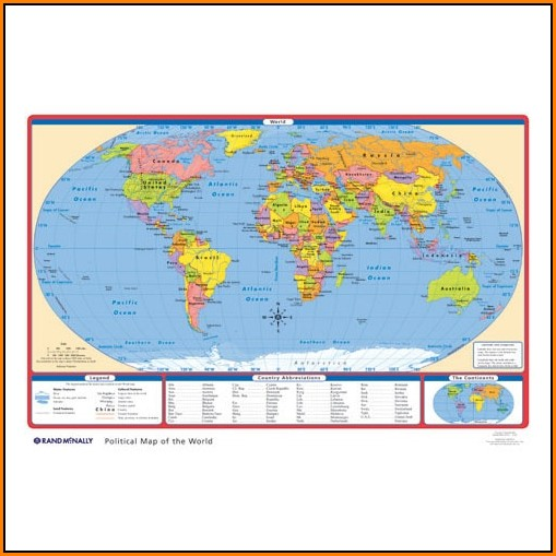 rand-mcnally-world-political-map Pinnable World Map on professional map, cork board map, metal map, cloth map, world map,