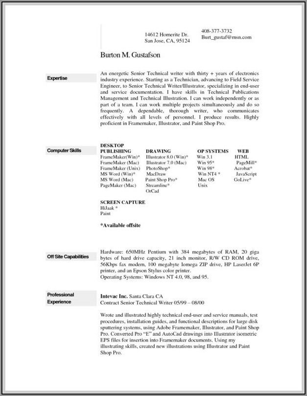 Resume Maker Free Download Windows 7