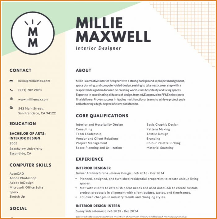 Resume Maker Online Canva
