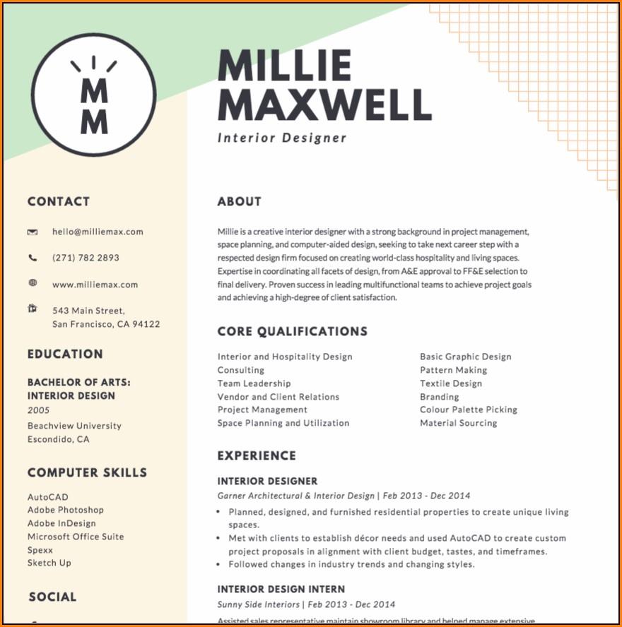 Resume Maker Online Canva