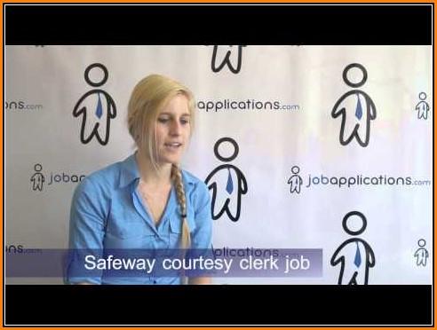 Safeway Jobs Application Online