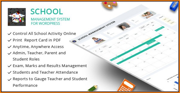 School Management System Template Free Download