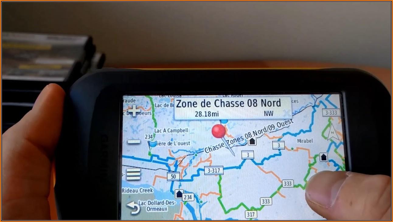 Snowmobile Trail Maps For Garmin